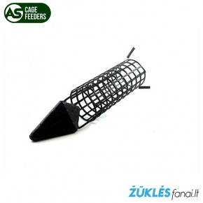 Šeryklėlė AS Rocket Feeder žvejybai su dugnine meškere